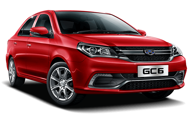 Geely GC6 rojo - Geely Costa Rica