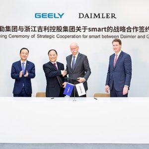 Geely y Daimler de la mano - Geely Costa Rica