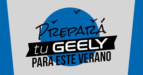 prepará tu Geely para el verano - Geely Costa Rica